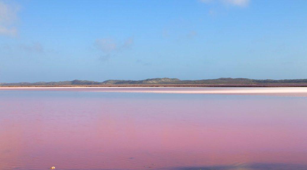 Hutt lagoon, foto copertina