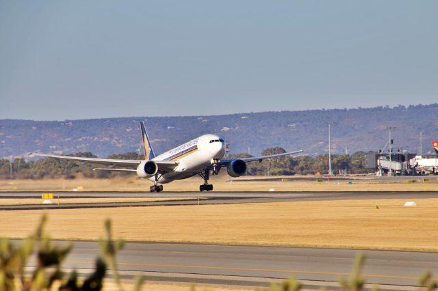 aereo per l australia