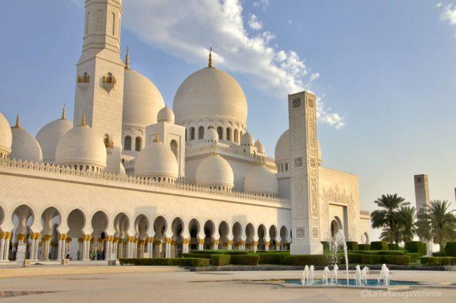 lato esterno della moschea