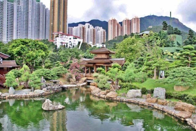 tempio nel giardino di nan lian, itinerari hong kong