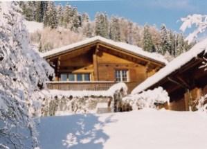 La Taupiniere in winter