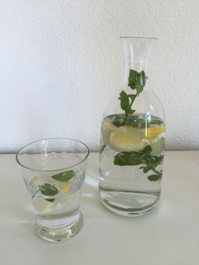 Bedside Water Carafe With Tumble Up Glass