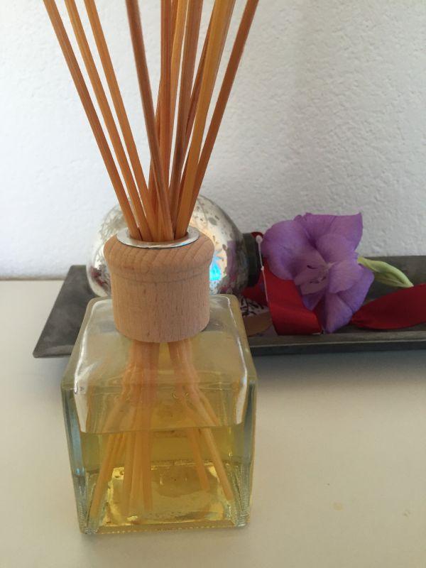 essential oils of lavender, myrtle and cedar