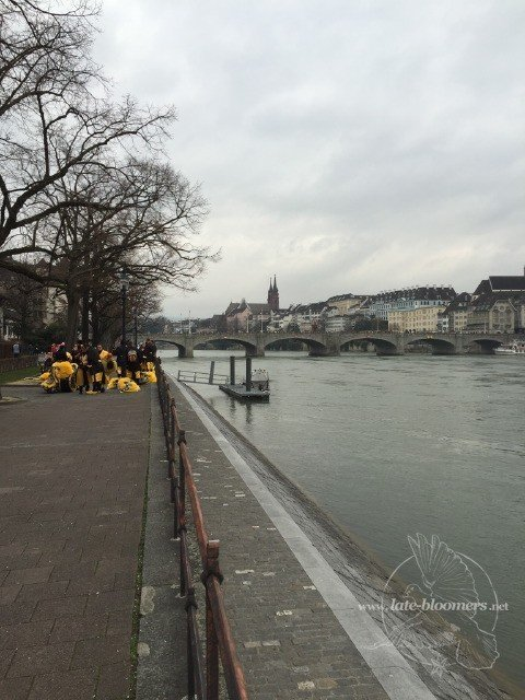 Tuesday at the river Rhine