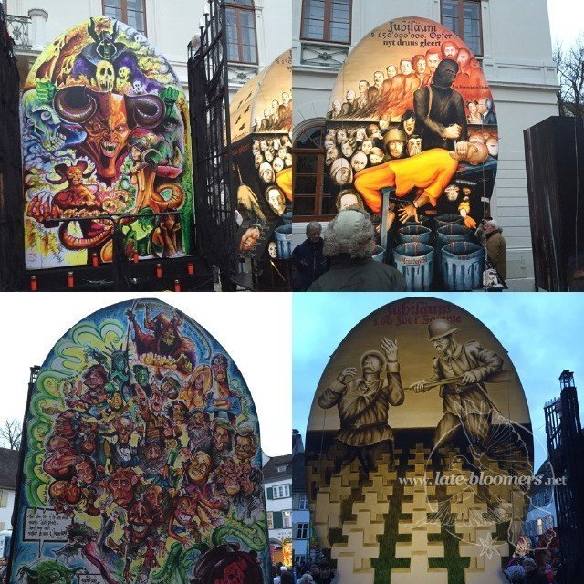 lanterns depicting topics