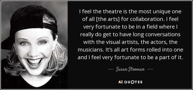 Teatrul este unic