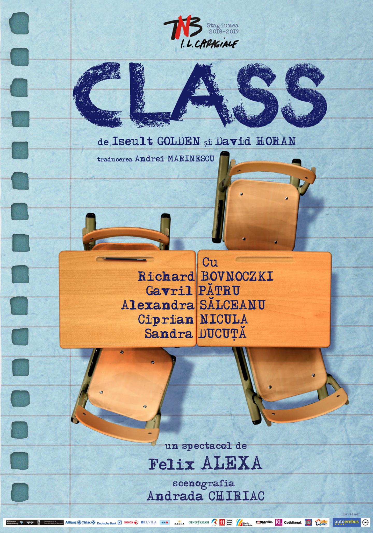 Class de Iseult Golden si David Horan – TNB