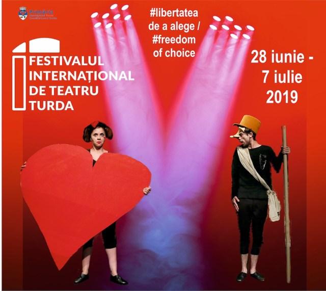 Festivalul International de Teatru Turda 2019 POSTER
