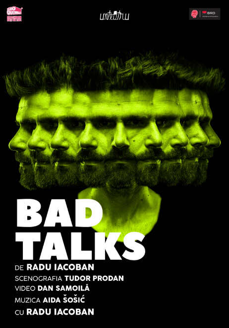 bad talks radu iacoban POSTER
