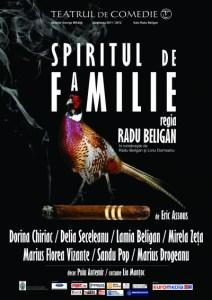 Spiritul de familie - Teatrul de Comedie AFIS