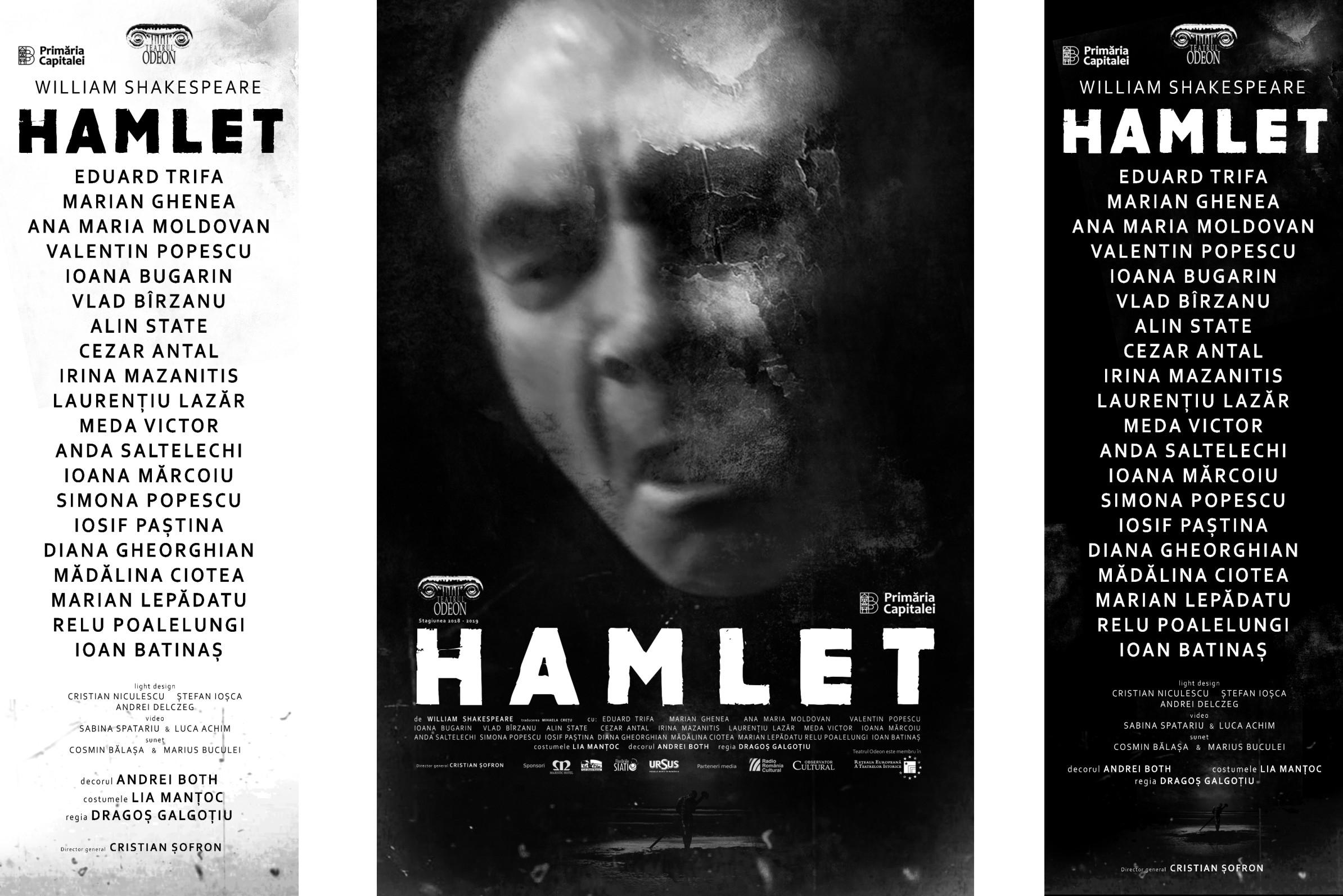 Hamlet (doua spectacole intr-unul singur) - Teatrul Odeon Dragos Galgotu
