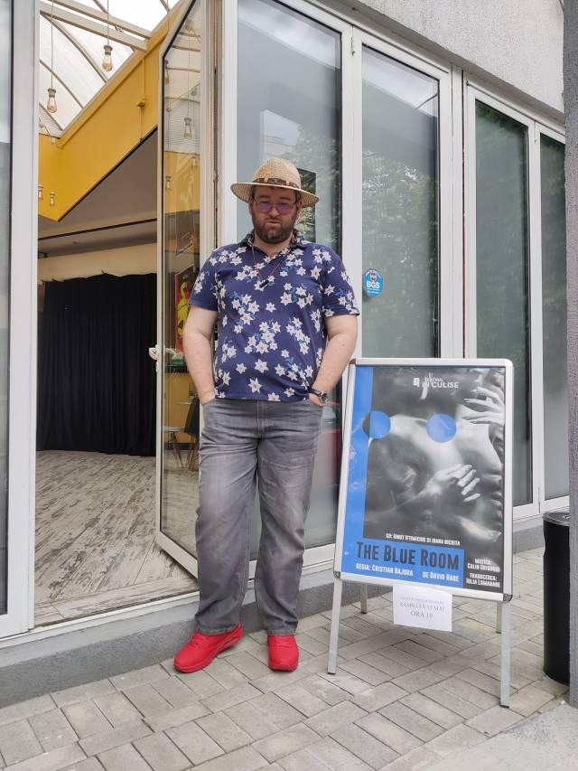Emil Calinescu la The Blue Room Teatrul In Culise