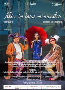 Alice in tara mininunilor Teatrul Evreiesc de Stat AFIS