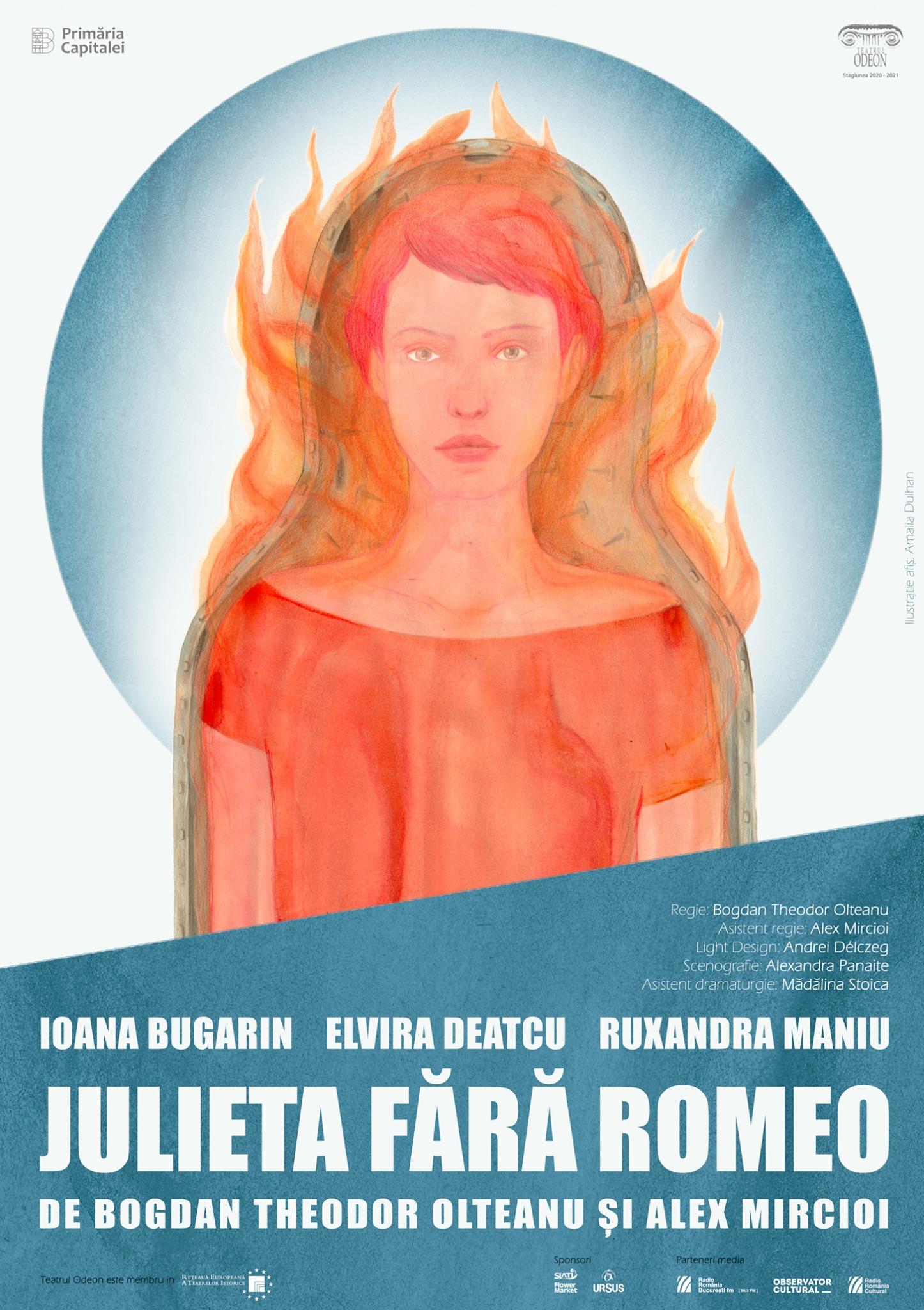 Julieta fara Romeo - Teatrul Odeon - Fest-FDR 2021 POSTER