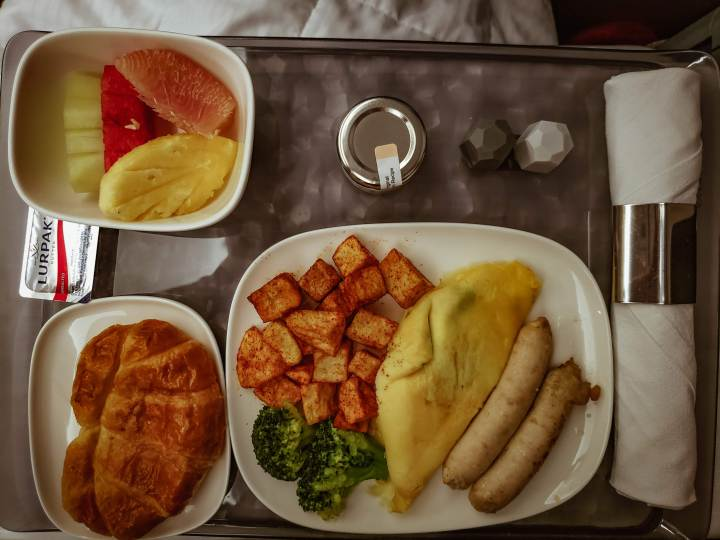 Delta One 5- Star Breakfast - late by Lattes