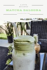 Matcha Dalgona Recipe - Late By Lattes