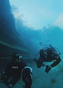 Freediving w Scuba