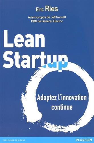 Livre Lean Startup, publié en 2012 par Eric Ries