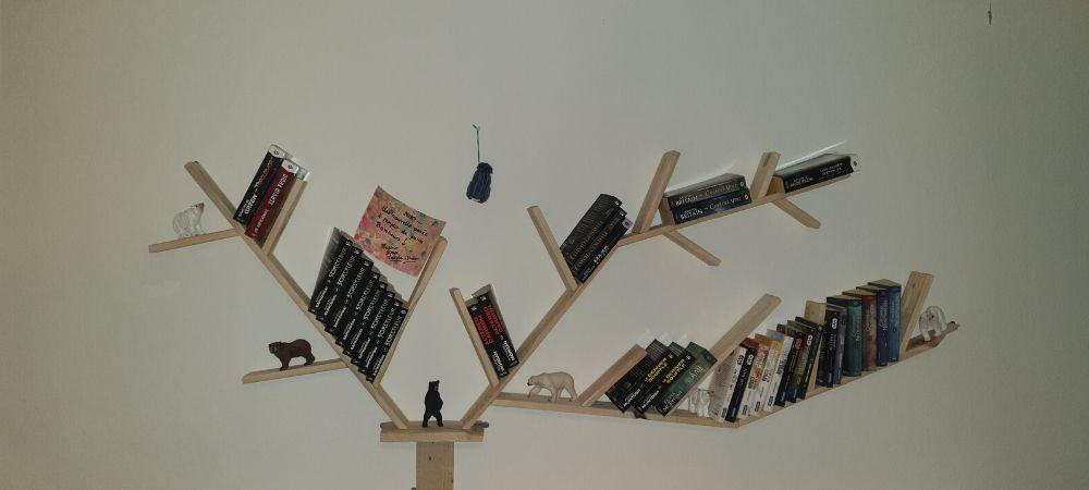 fabriquer une bibliotheque originale et