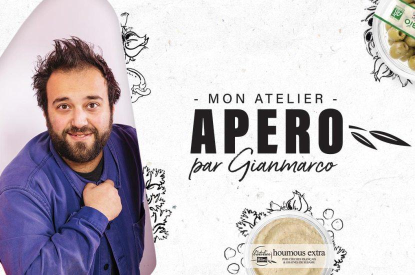 Mon Atelier Apéro avec Gianmarco Gorni
