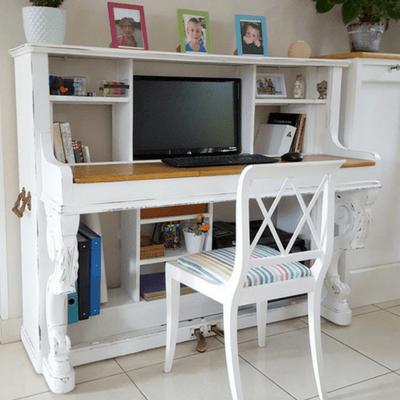 Adapter un piano en bureau partie l atelier de mat