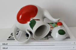 Vintage Porcelain Teapot - Bavaria West Germany - 60s
