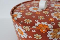 Boite à couture vintage / Retro sewing box