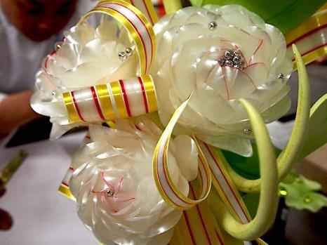 Chef J's sugar flowers
