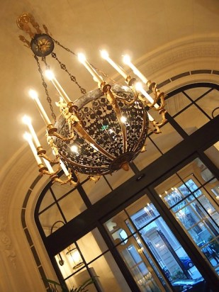 Entrance chandelier