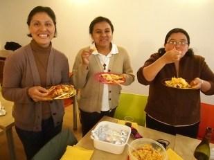 Mirna, Karla and Isabel