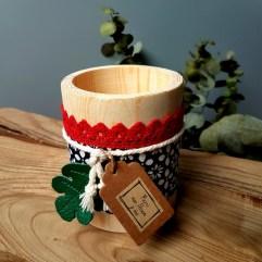 Pot crayons artisanal mosaique Argana