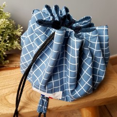 sac piscine maillot carreaux