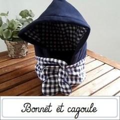 Cagoule et bonnet turban