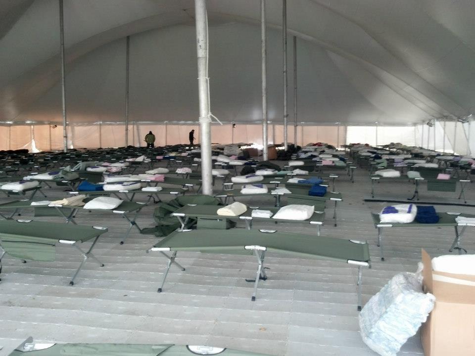 Emergancy Responce Tents