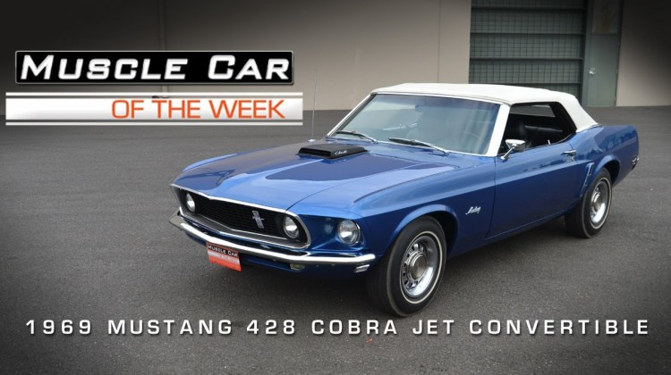 1969 Ford Mustang 428 Cobra Jet Convertible