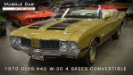 1970 442 W-30 4-Speed Convert W27