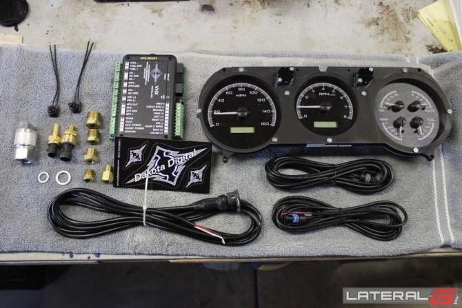 dakota digital vhx gauge install and review