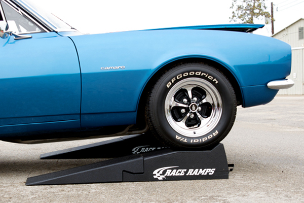 chevy-camaro-on-race-ramps