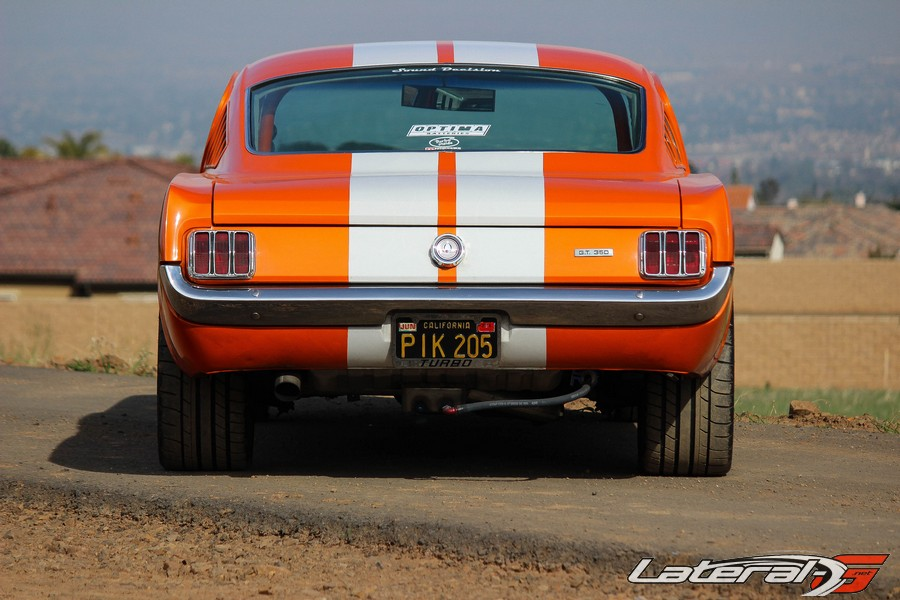 Mario De Leon Mustang TMI Products Lateral G Pro Touring 20