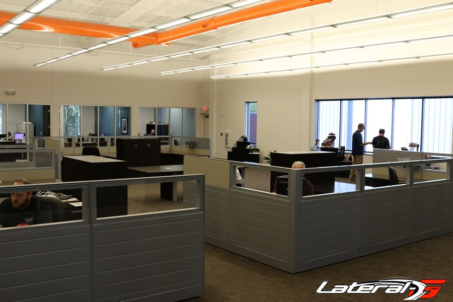 The offices of Lokar Performance.