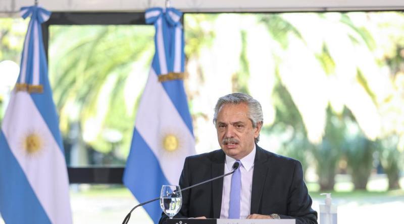 Alberto Fernández: «La industria se está moviendo» y Argentina «se está recuperando»