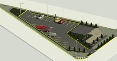 Río Grande: Se construirá un nuevo Estacionamiento Público con Estación Saludable sobre Pellegrini