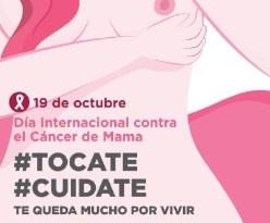 #Tocate #Cuidate : La Municipalidad de Ushuaia lleva adelante la Campaña de Detección Precoz de Cáncer de Mama