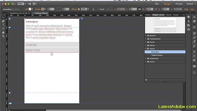 adobe muse cc for web designing software