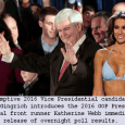 A former Miss Alabama Katherine Webb has rocketed to the top of just-released popularity polls that surveyed hundreds of thousands of likely GOP voters in the upcoming 2016 GOP Presidential primaries. The results today of polls conducted during Monday night's BCS National Championship football game indicate that Ms. Webb, who is dating […]