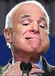 John McCain - 'I don't get no respect.'