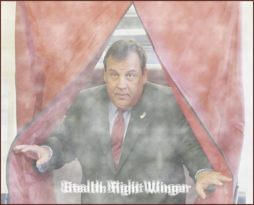 Chris Christie stealth right winger
