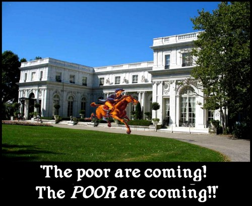 U.S. - Counter-Revolution 2013 - Paul Revere's Ride 'The poor are coming!'