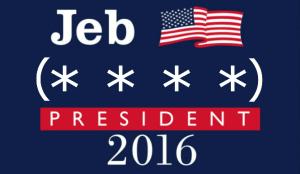 001_Jeb 4 President 2016 LOGO 01 with parens