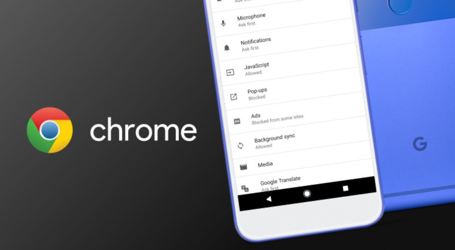 chrome extension on android
